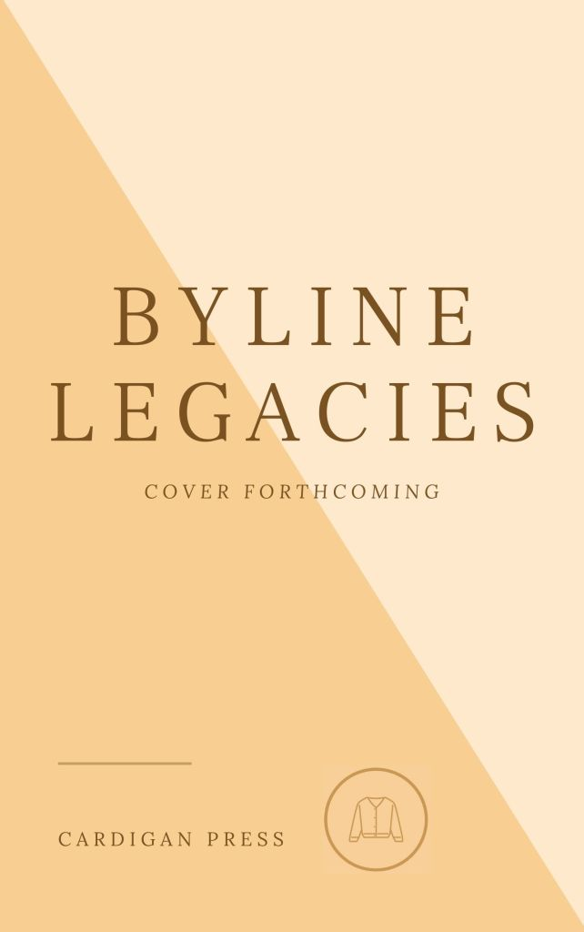 Byline Legacies, stand-in cover